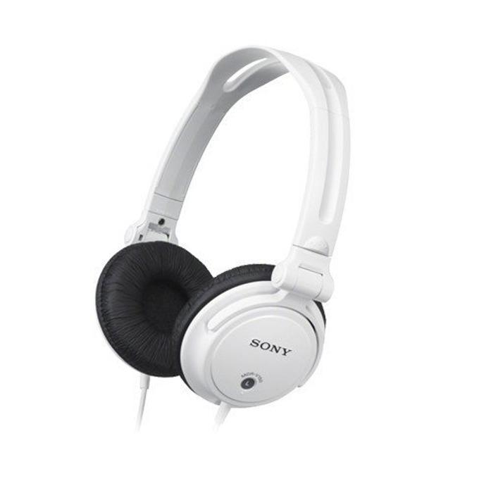 Слушалки Sony MDR V150W, 16Hz-22кHz честотен диапазон, 1.2 м кабел, бели image