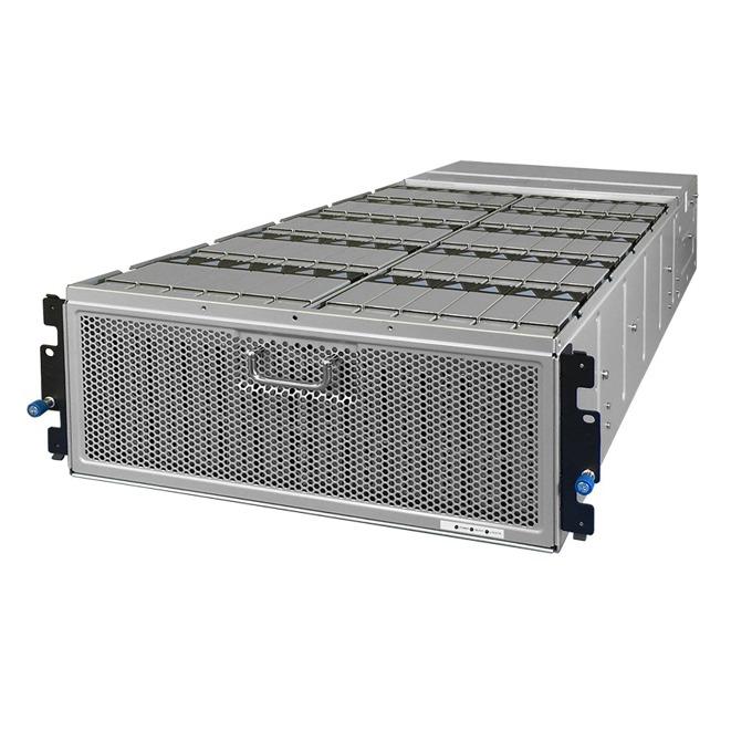 """Мрежови диск (NAS) HGST 4U60(1ES0059), 360TB HDD(60x 6TB), 3.5"""" (8.89 cm), SAS 12Gb/s, 2x 1,650W PSU's, 2x RJ-45, 2x SAS QSFP+ image"""