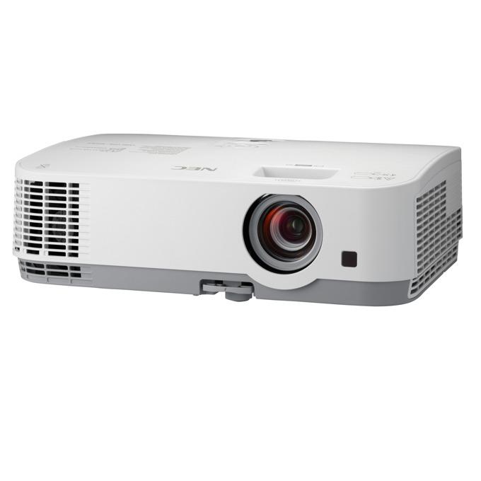 Проектор NEC ME331W, LCD, WXGA (1280x800), 6000:1, 3300 lm, VGA, HDMI, RS232, RCA, USB, LAN image