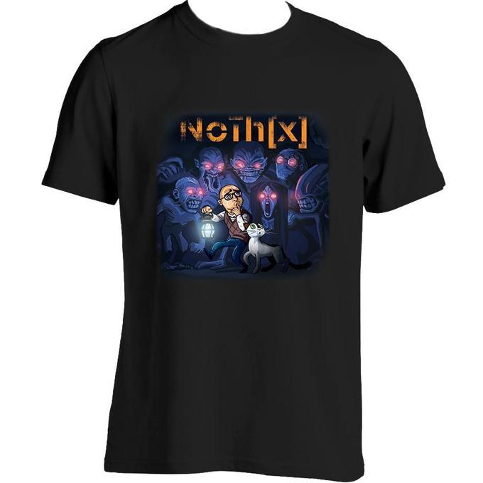 Тениска GplayTV NoThx, размер XL, черна image