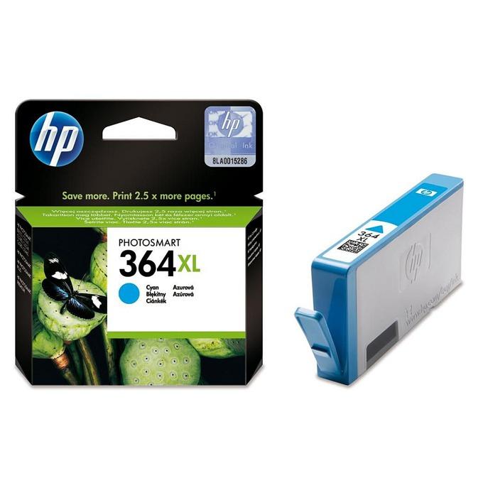 ГЛАВА HP Photosmart C5380/C6380/D5460/Photosmart Pro B8550 - Cyan - (364XL) - P№ CB323EE image