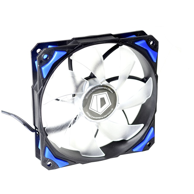 Вентилатор 120 mm ID-Cooling PL-12025-B , 4-пинов, 2200rpm, син image