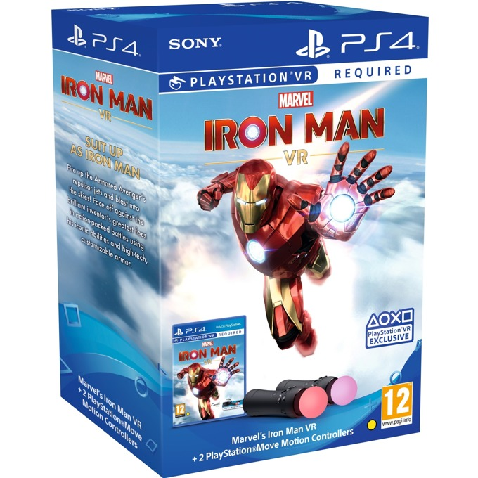 Iron Man + Move Twin Pack PS4 product