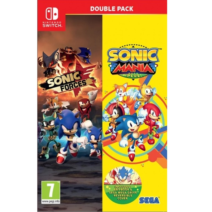 Sonic Mania Plus + Sonic Forces Double Pack, за Nintendo Switch image