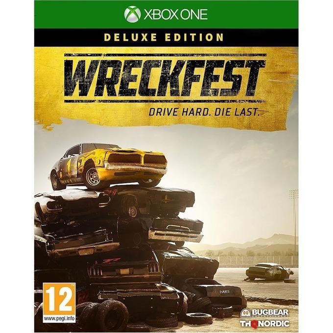 Игра за конзола Wreckfest - Deluxe Edition, за Xbox One image