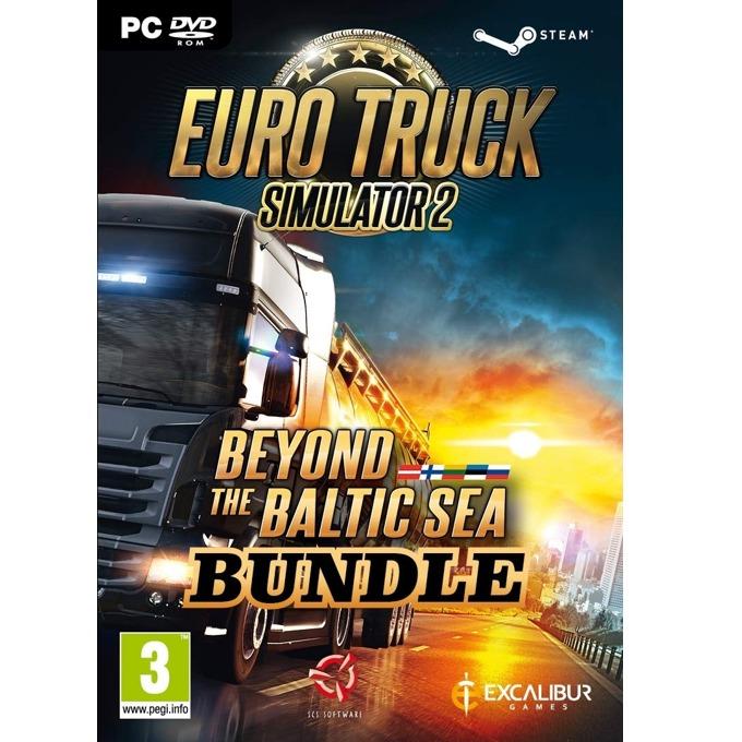 Игра Euro Truck Simulator 2 + Beyond the Baltic Sea Bundle, за PC image