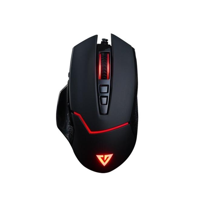 Мишка Modecom Volcano MC-GMX4, оптична(7200 dpi), Гейминг, USB, черна, 8 бутона image