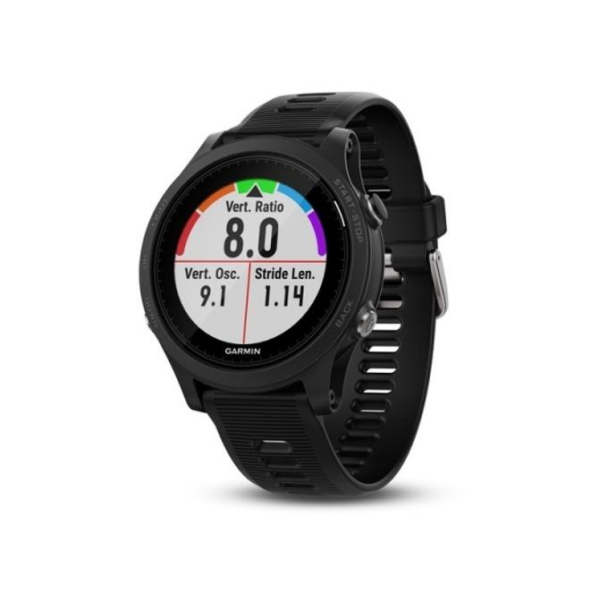 "Смарт часовник Garmin Forerunner 935, 1.2"" (30.4 mm), Bluetooth, Wi-Fi, GPS, 64MB Flash памет, до 24 часа време за работа, черен image"