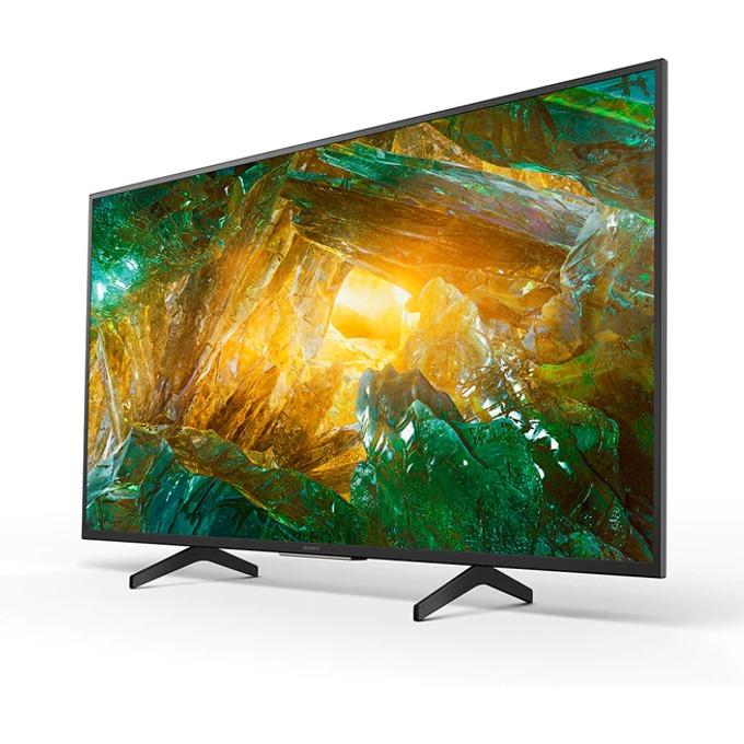 "Телевизор Sony KD-55XH8077, 55"" (139.7 cm) LED, 4K Ultra HD Smart, DVB-C/T/T2/S/S2, Wi-Fi, LAN, 4x HDMI, 2x USB image"