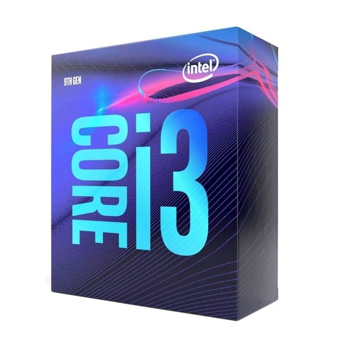 Intel Core i3-9100 Box