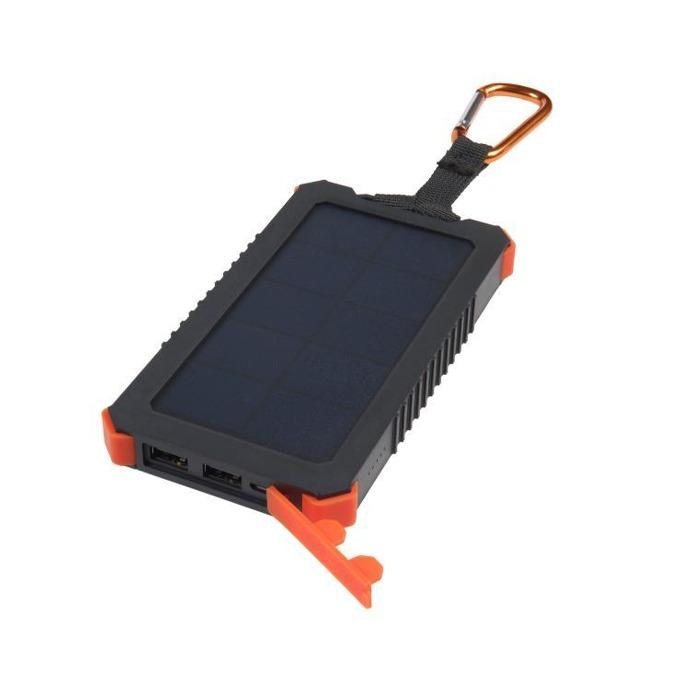 Външна батерия /power bank/ A-solar Xtorm AM122 Solar Charger Impluse 10000, 10000 mAh, черен, със соларен панел image