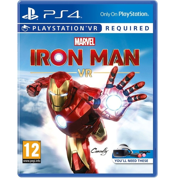 Marvels Iron Man PS4 VR product