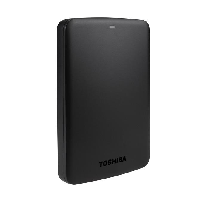 """Твърд диск 2ТB Toshiba CANVIO BASIC, черен, 2.5"""" (6.35cm), външен, USB 3.0, 2г.гаранция  image"""