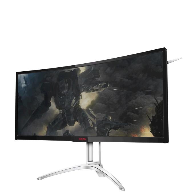 """Монитор AOC AGON AG352UCG, 35""""(88.90 см) MVA панел, UWQHD, 4ms, 300 cd/m2, HDMI, DP, NVIDIA G-SYNC image"""