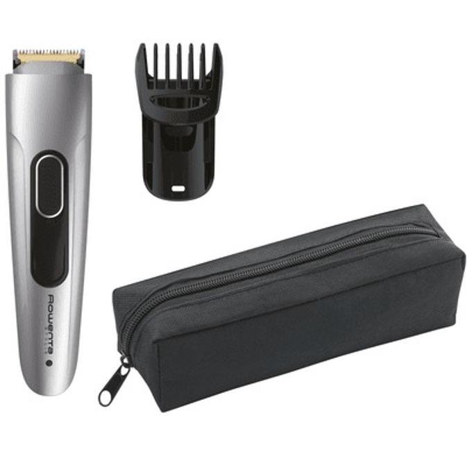 Тример Rowenta TN2850F4, за брада, ножчета с титаниево покритие, 11 дължини на подстригване, 90 мин. живот на батерията, сребрист image