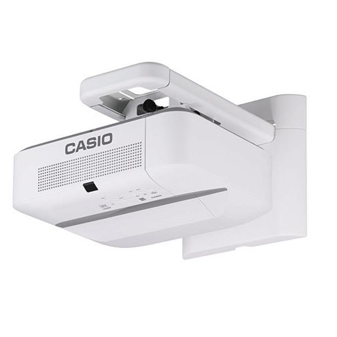 Проектор Casio XJ-UT352WN, DLP, 3D, WXGA (1280 x 800), 20 000:1, 3500 lm, HDMI, VGA, USB, RJ-45, бял image