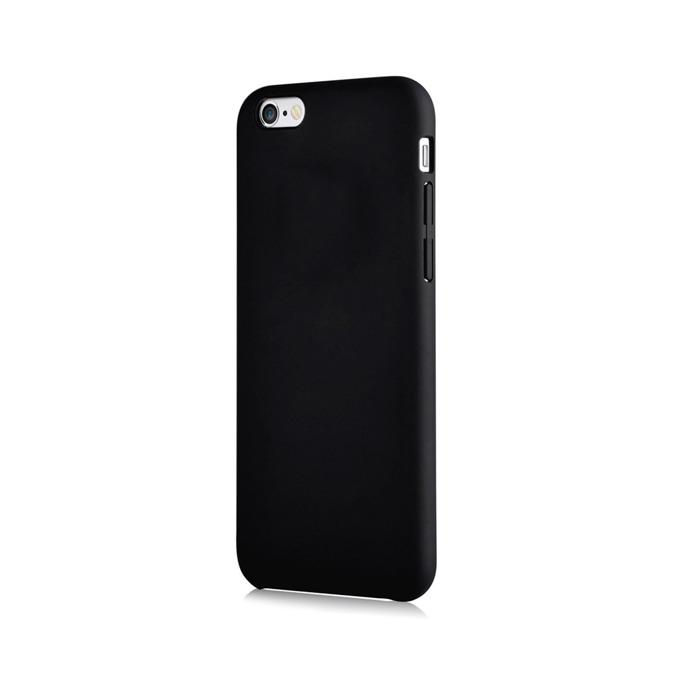 Калъф за Apple iPhone 6/6S, страничен протектор с гръб, поликарбонат, Devia CEO2 Case, черен image