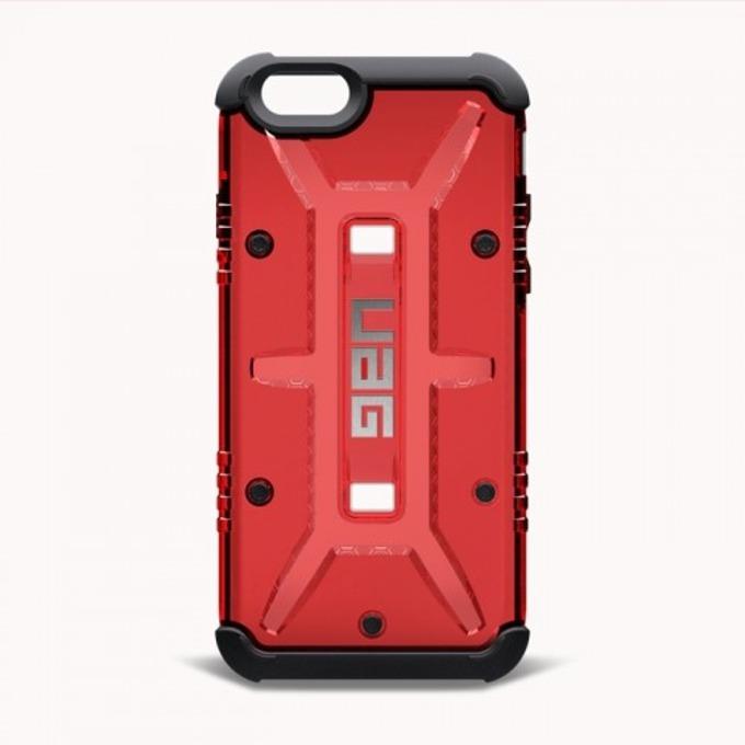 Хибриден кейс Urban Armor Gear Scout, iPhone 6/6S, удароустойчив, HD покритие, червен image