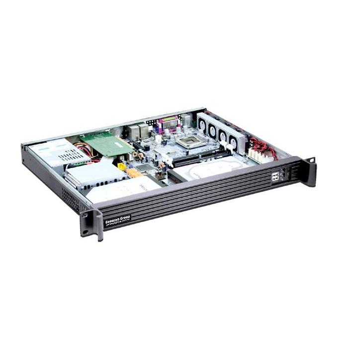 Кутия Genesys Group C136B, 1U rack-mount, без захранване image