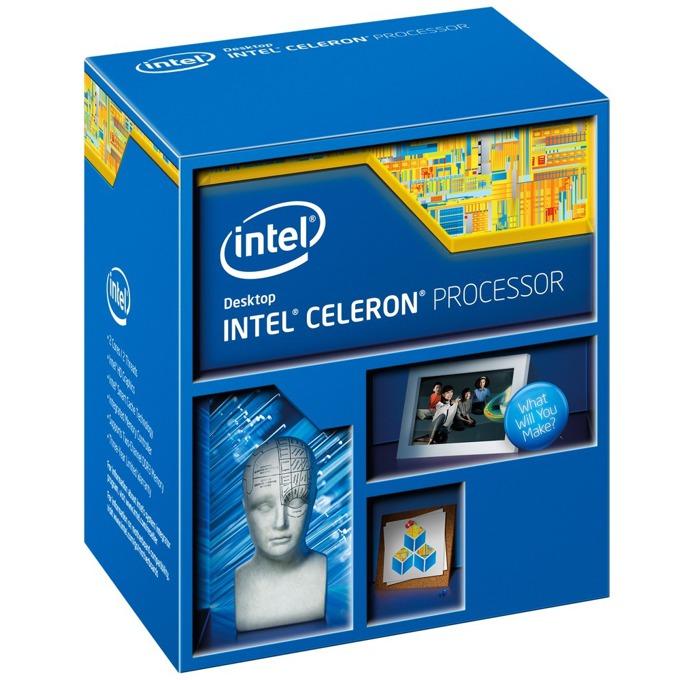 Процесор Intel Celeron G1840 двуядрен (2.8 GHz, 2MB L3, 1.05GHz GPU, LGA1150) BOX, с охлаждане image