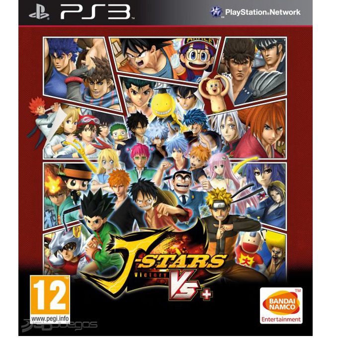 Игра за конзола J-Stars Victory VS+. за PS3 image