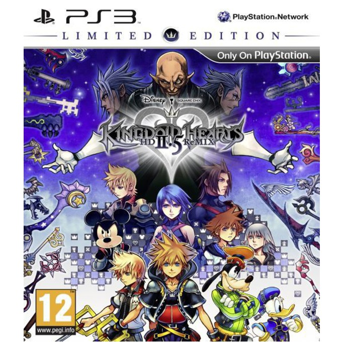 Kingdom Hearts HD 2.5 Remix Limited Edition, за PlayStation 3 image