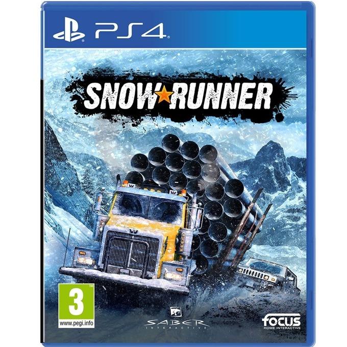 Игра за конзола Snowrunner: A Mudrunner game, за PS4 image