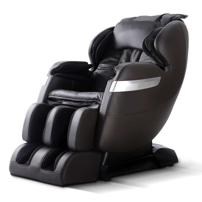 Масажен стол GJ-5101BL, еко кожа, крачна секция, топлинен механизъм, ролков механизъм, въздушен механизъм, многофункционално дистанционно, черен image