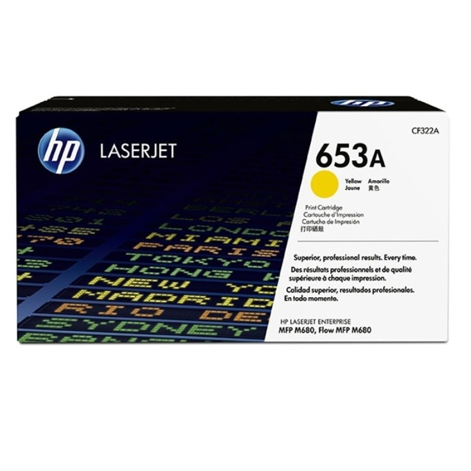 HP 653A (CF322A) Yellow product