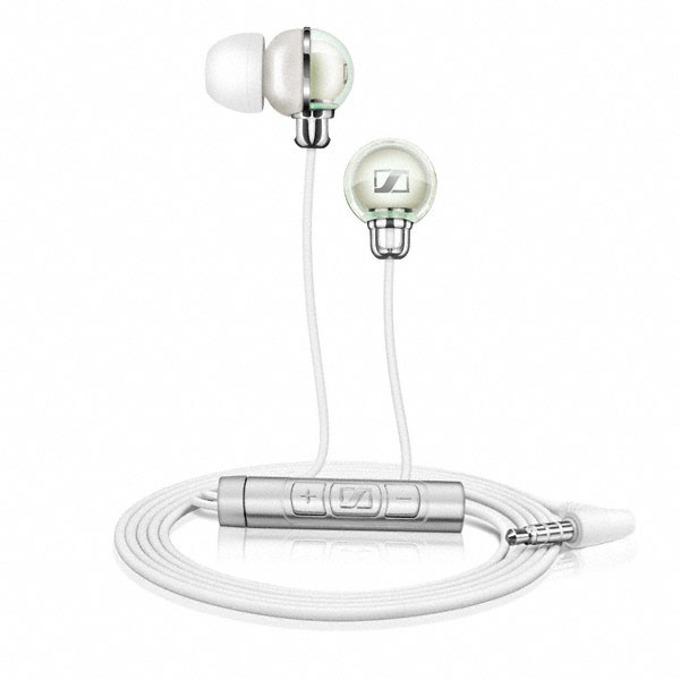 "Слушалки Sennheiser CX 890i, тип ""тапи"", микрофон, бели image"