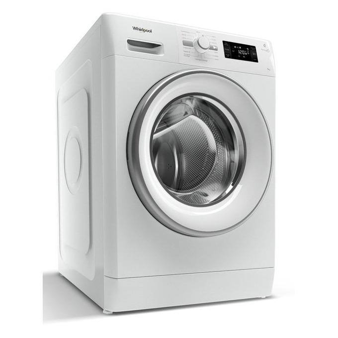 Пералнa машина Whirlpool FWG 71484W EU, клас A+++, 7кг. капацитет, 1400 об/мин, 4 програми, свободностояща, 60 cm. ширина, бяла image