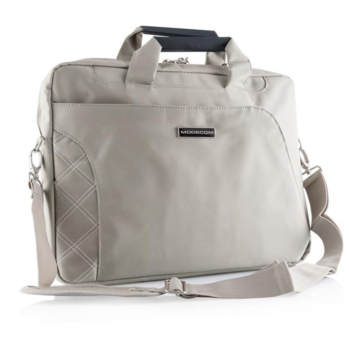 "Чанта за лаптоп Modecom Greenwich, до 15.6"" (39.62 cm), джоб за аксесоари, бежова image"