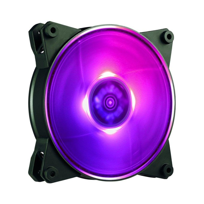 Вентилатор 120mm, Cooler Master MasterFan Pro 120 Air Balance RGB, 4-pin, 1300 rpm, RGB подсветка(вграден контролер) image