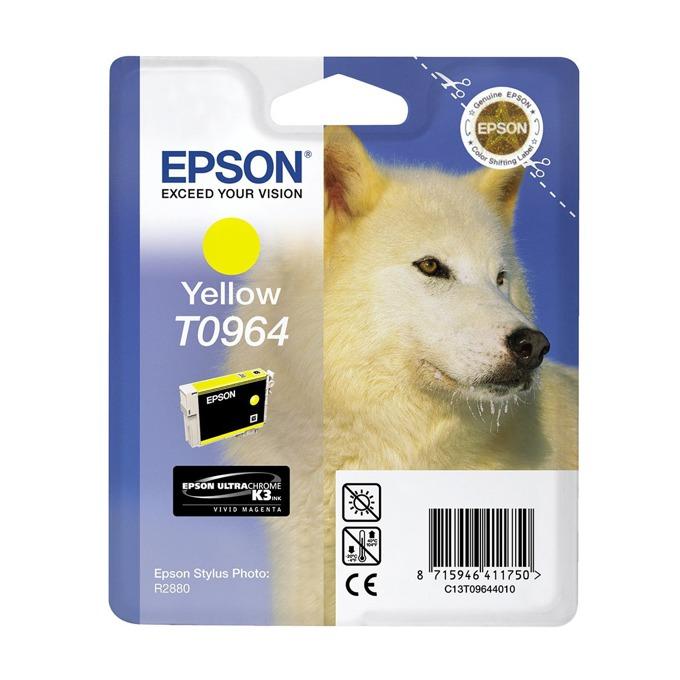 ГЛАВА ЗА EPSON Stylus Photo R2880 - Yellow - T0964 - P№ C13T09644010 - 11.4ml image