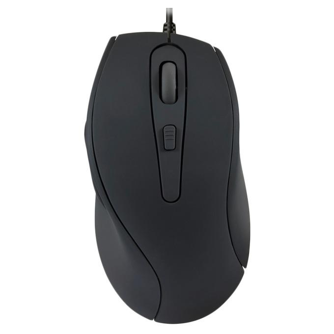 Мишка Speedlink Axon, оптична 1000 dpi, тиха, антибактериална, USB, черна image