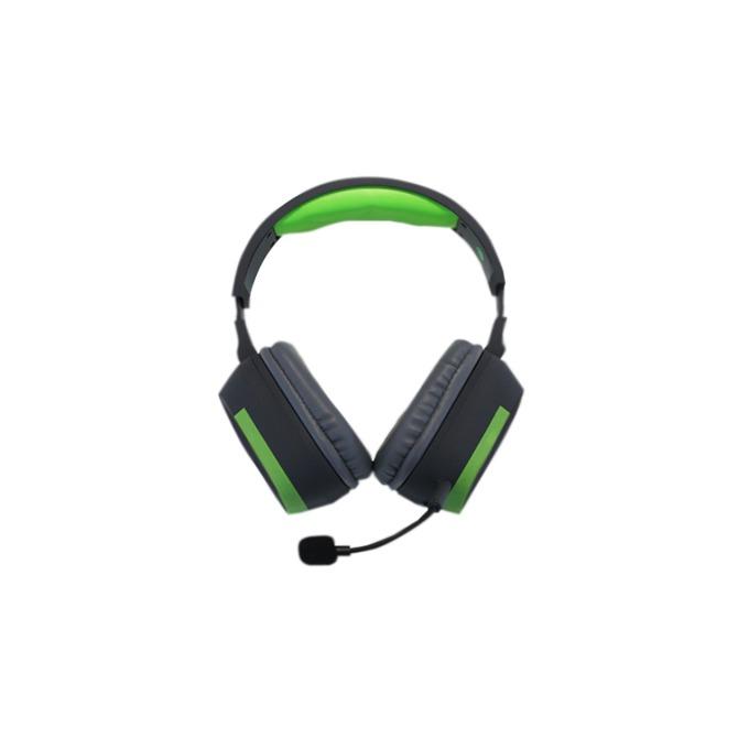 Слушалки KEEPOUT HX8V2, микрофон, 3.5 мм жак, черно/зелени image