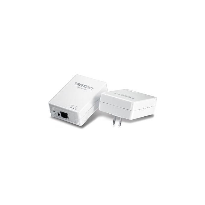 TRENDnet TPL-401E2K, Powerline AV, 500Mbps, комплект 2 устройства image