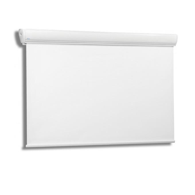 "Екран Avers AKUSTRATUS 2 18-10 MWP, стенен/таванен монтаж, Matt White P, 180 x 102 см, 77"" (195.58 cm), 16:9 image"