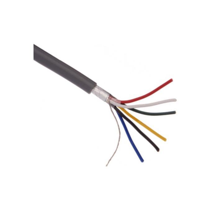 Сигнален кабел СОТ 6x0.22 Екраниран