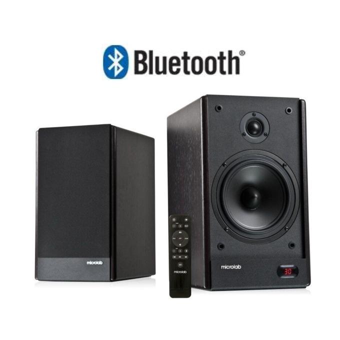 Тонколони Microlab Solo 26, 2.0, 65W RMS, Bluetooth, RCA, Toslink, Coaxial, черни image