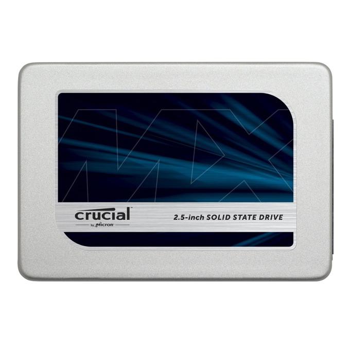 """Памет SSD 1TB Crucial MX300, SATA 6Gb/s, 2.5"""" (6.35 cm), скорост на четене 530 MB/s, скорост на запис 510 MB/s image"""