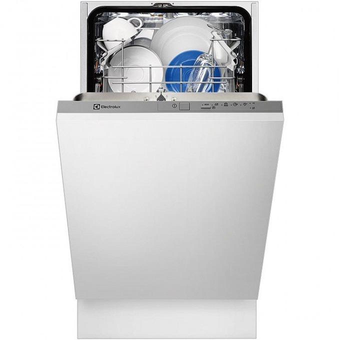 Съдомиялна за вграждане Electrolux ESL 4201LO, клас А+, 9 комплекта, 5 програми, 3 температури, бяла image