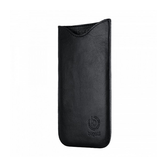 """Калъф """"джоб"""" Bugatti SlimFit, естествена кожа, ръчна изработка, за Sony Xperia Z3 Compact, черен image"""