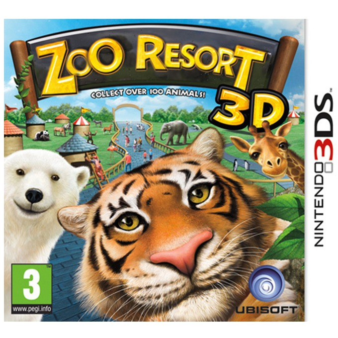 Zoo Resort 3D, за 3DS image