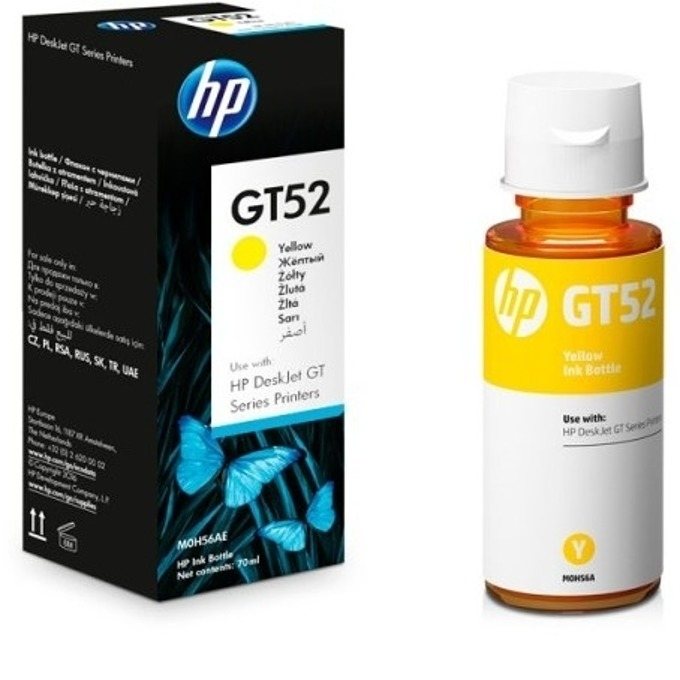 HP GT52 (M0H56AE) Yellow