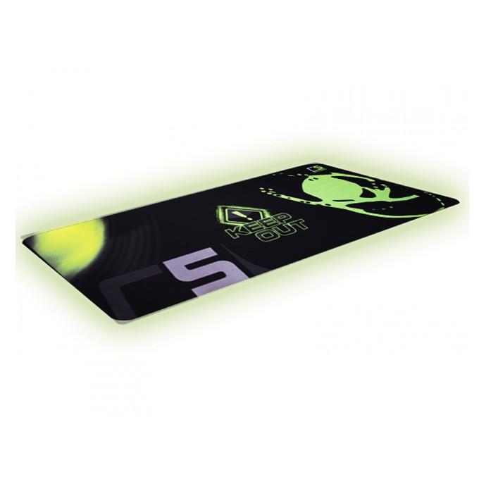 Подложка за мишка KEEPOUT R5, гейминг, черно/зелена, 880 x 330 x 3 мм image