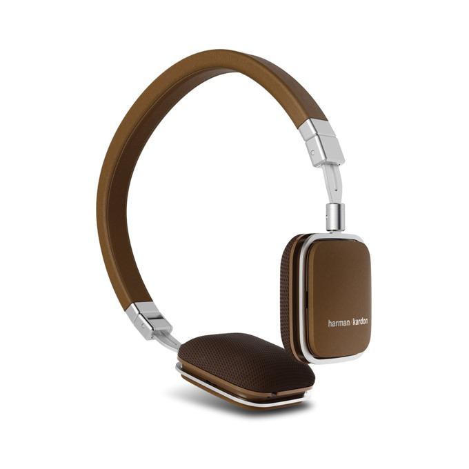Слушалки Harman Kardon Soho BT, Bluetooth, микрофон и управление на звука, кафяви image