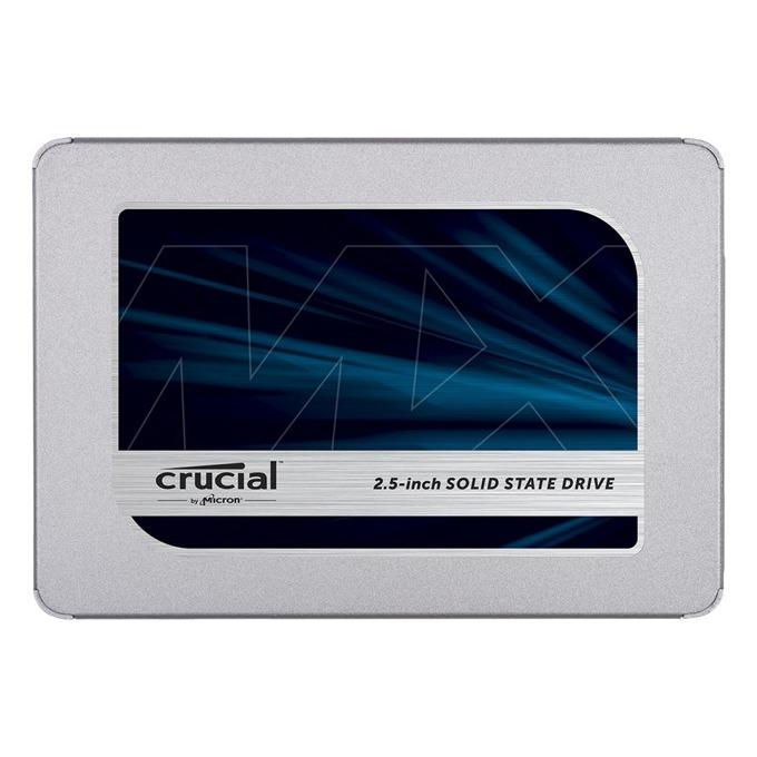 """Памет SSD 250GB Crucial MX500, SATA 6Gb/s, 2.5"""" (6.35 cm), скорост на четене 560 MB/s, скорост на запис 510MB/s image"""
