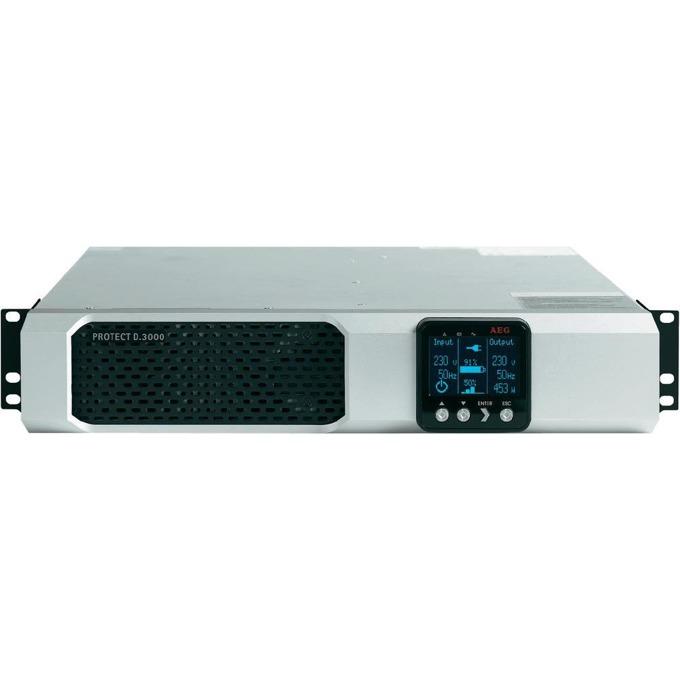 UPS AEG Protect D., 3000Va/2700W, OnLine image