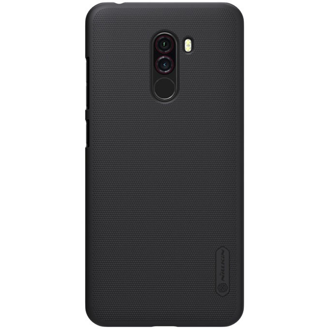 Oригинален калъф за Xiaomi Mi Pocophone F1, пластмаса, Nilkin Super XI359-Cheren, черен image